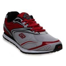 Jual Spotec Unlimited Sepatu Lari Grey Red Satu Set
