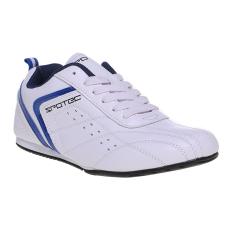 Spesifikasi Spotec Versatile Sepatu Taekwondo White Blue Black Terbaik