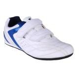 Spotec Victor Velcro Sepatu Sneakers Olahraga Putih Biru Diskon Akhir Tahun