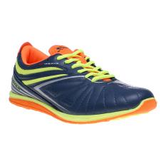 Jual Spotec Zeus Latin Sepatu Sneakers Biru Tua Oranye Antik