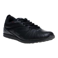 Toko Spotec Zeus Sepatu Sneakers Hitam Abu Abu Tua Online
