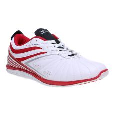 Spotec Zeus Sepatu Sneakers Putih Merah Asli