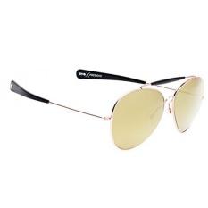 Spy Optic Unisex Presidio Lensa Bahagia Koleksi Kacamata Hitam Emas dengan Hitam/Perunggu, Satu Ukuran Cocok untuk Semua-Intl
