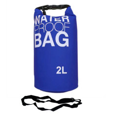 Toko Ss Waterproof Dry Bag Korean 2 Liter Blue Waterprof Drybag Biru Tas Anti Air Ss Indonesia