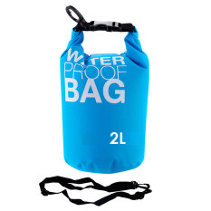 Jual Beli Ss Waterproof Dry Bag Korean 2 Liter Tosca Waterprof Drybag Biru Muda Tas Anti Air Baru Indonesia