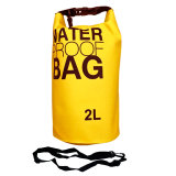 Ss Waterproof Dry Bag Korean 2 Liter Yellow Waterprof Drybag Kuning Tas Anti Air Ss Diskon