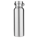 Model Termos Stainless Steel Dinding Ganda Terisolasi Topi Bambu Air Botol 650 Ml International Terbaru