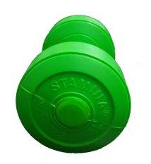 Harga Stamina Dumbbell Plastic 2 Kg Hijau Stamina