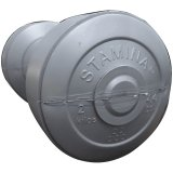 Review Stamina Dumbbell Plastic 2 Kg Silver Stamina