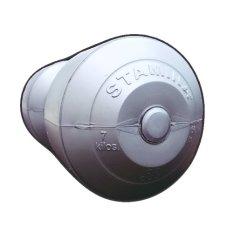 Spesifikasi Stamina Dumbbell Plastic 7 Kg Silver Yg Baik