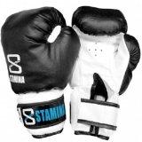 Jual Stamina Sarung Tinju Imitation Boxing Gloves Hitam Ori