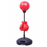 Toko Jual Standing Punching Tas Tinju Sarung Tangan Set Anak Kids Toy Bag Agility Speed Ball Stand Boy Intl