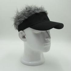 Bintang Mall Lucu Bebek Lidah Matahari Panggul-Hop Sunshade Golf Topi Kreatif Teguran Bisbol Topi Keterangan Hitam Topi Gray Rambut-Internasional By Star Mall.