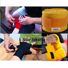 Toko Starjakarta Boxing Handwrap Pembungkus Tangan Sarung Tinju Merah Murah Dki Jakarta