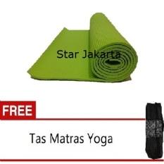 Promo Starjakarta Matras Yoga Atau Yoga Mat Hijau 6Mm Gratis Tas Starjakarta