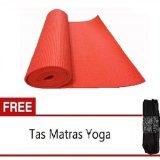 Beli Starjakarta Matras Yoga Atau Yoga Mat Orange 6Mm Gratis Tas Starjakarta