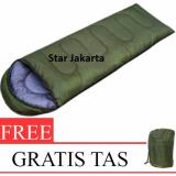 Toko Starjakarta Sleeping Bag Camping Kantung Tidur Hiking Hijau Murah Di Dki Jakarta