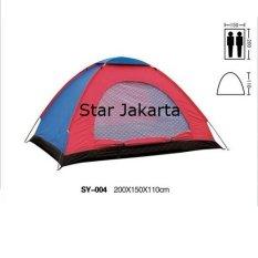 Beli Starjakarta Tenda Camping 2 3 Orang Ukuran 200Cm X150Cmx110Cm Sy228 Starjakarta Murah
