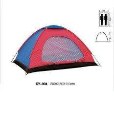 Spesifikasi Starjakarta Tenda Camping 2 3 Orang Ukuran 200Cm X150Cmx110Cm Sy210 Lengkap