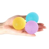Review Stress Squeeze Round Balls Latihan Tangan 3 Kekuatan Therapy Resistance Bola Internasional Oem