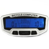 Penawaran Istimewa Sunding Sd 558C Watertproof Odometer Speedometer Sepeda Wireless With Lcd Backlight Putih Terbaru