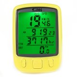 Jual Sunding Sd 563A Bersepeda Tahan Air Odometer Speedometer With Hijau Lampu Latar Kuning Tiongkok Murah