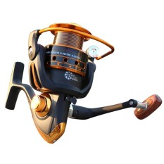 SunnyShopSpinning Fishing Reel 12+1 Bearing Balls Fishing Reel with Left Right Convertible Metal Rocking Bar Specification:AX6000 - intl