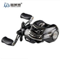 Spesifikasi Super Light Carbon Body Fresh Air Garam Yinglaite Fishing Reel Lure Fishing Reel Kiri Hitam Terbaik