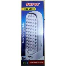 Jual Surya Lampu Emergency 56 Led Smd Light Emitting Diode Technology Sql L5601 Sangat Terang Dan Bergaransi Surya