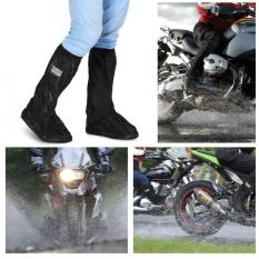 Beli Sweatbuy Motor Scooter Sepeda Bersepeda Non Slip Sepatu Tahan Air Cover Untuk Hujan Hari Bersalju Hitam S Intl Murah