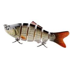 Jual Swimbait 6 Bagian Jointed Fishing Lure Crankbait Umpan Tackle Life Like Berguna Intl Oem Branded