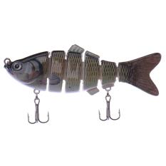 Jual Swimbait 6 Bagian Jointed Fishing Lure Crankbait Bass Umpan Ikan Yang Hidup Seperti Grosir