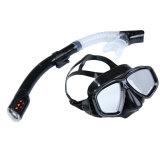 Harga Renang Menyelam Pelindung Mata Tabung Pernapasan Masker Snorkeling Set Hitam Termahal