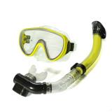 Beli Renang Scuba Anti Kabut Kacamata Selam Masker Pvc Kuning Hong Kong Sar Tiongkok