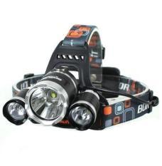Rimas T6 High Power Headlamp Cree XM-L T6 5000 Lumens - Lampu Senter Kepala LED Cahaya Terang Aman Nyaman Kuat Awet Tahan Lama Berkualitas