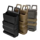 Promo Tactical Fast Mag Melampirkan Belt Magazine Pouch 5 56 Molle Strike Holster Oem Terbaru
