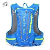 Harga Tanluhu 679 15L Outdoor Backpack Hydration Pack Untuk Menjalankan Naik Biru Intl Termurah