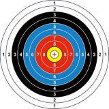 Jual Target Sasaran Panah 40 X40 Cm Jawa Barat Murah