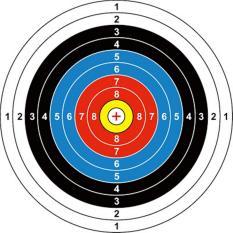 Harga Target Sasaran Panah 40 X40 Cm Indonesia Product Asli