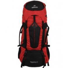 Tas / Backpacks Gunung / Karier Cozmeed Tricera 60L [Hitam Merah]