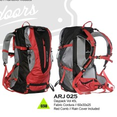 Rp 550.000. Tas Gunung 45 Liter Ransel Backpack Hiking Carrier Adventure  Outdoor ... 8149709da9