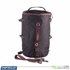 Tas Perlengkapan Olahraga Duffle Bag Multifungsi Ransel SMM 851 Black