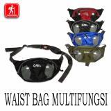 Jual Tas Pinggang Waist Bag Multifungsi Pendakian Aman Branded