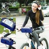 Spesifikasi Tas Sepeda Bagian Depan Multifungsi Bike Riding Touch Bag Bs 01 Dark Blue Bagus