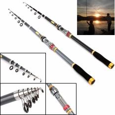 Teleskopik Fishing Carbon Fiber Carp Feeder Surf Casting Rod Rock Carbon Pintal Joran Pancing Ultra Light Tongkat Pancing-Intl