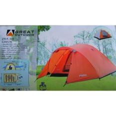 Spesifikasi Tenda Dome Great Outdoor Java 3 4 Person Tenda Camping Dan Harganya
