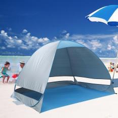 Spesifikasi Tenda Pop Up Pop Up Tent Outdoor Pantai Blue Murah