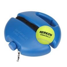 Ulasan Bola Tenis Singles Pelatihan Latihan Bola Back Base Trainer Alat Dan Tenis Intl