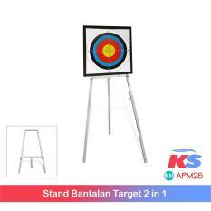 Model Termurah Se Lazada Best Seller Stand Bantalan Target 2 In 1 Tripod Bantalan Target Dudukan Bantalan Target Archery Panah Busur Panah Terbaru