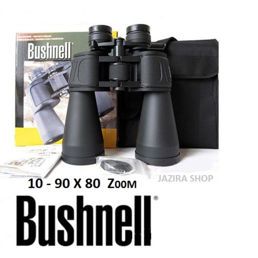Jual Teropong Bushnell Powerview 10 90X80 Zoom Black Bushnell Original